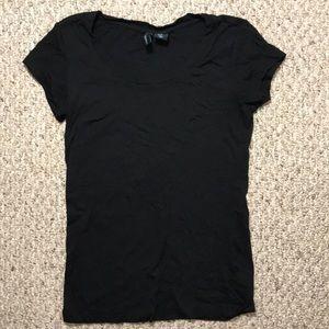 Cynthia Rowley Black t-shirt sz XS